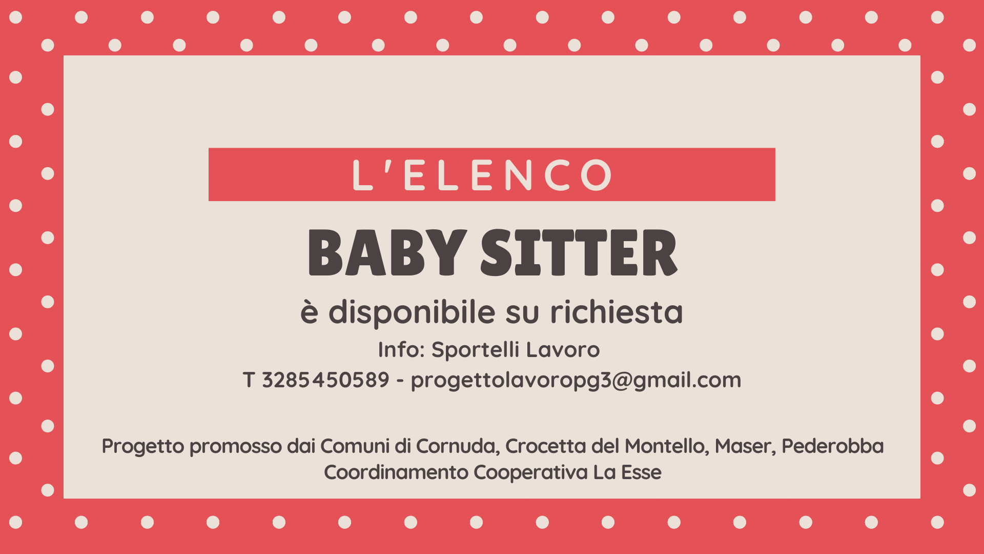 èprogetto baby sitter