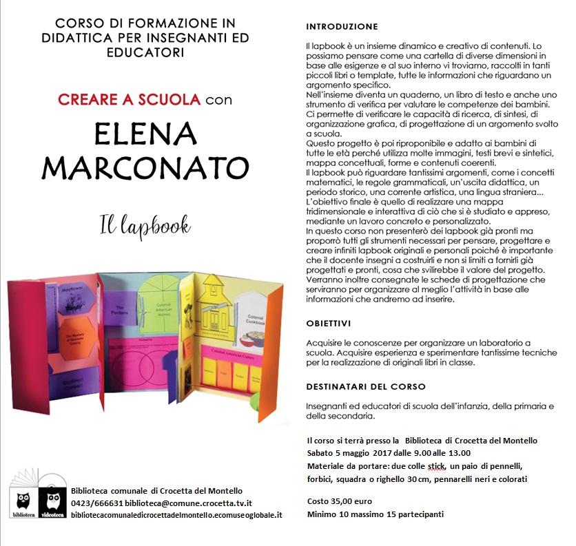 Elena Marconato Lapbook